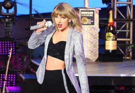 Taylor Swift Fall Video on New Year's Eve Goes Viral - I4U News | Cute girls fashion | Scoop.it