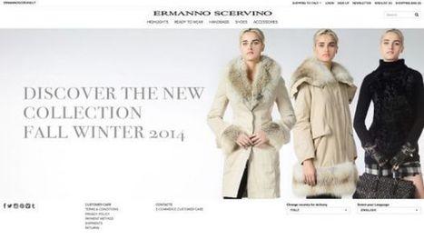Ermanno Scervino shop on line: il restyling del sito e il lancio dell'e-commerce   LIVING (work, life & style)   Scoop.it