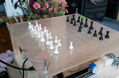 Wizard Chess: Chess Playing Robot with Raspberry Pi | Gadgetify | Raspberry Pi | Scoop.it