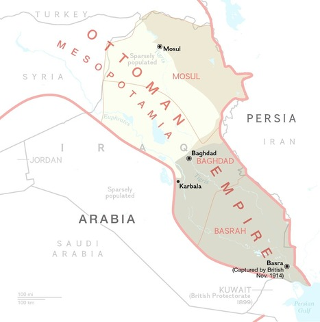 Iraq: 1,200 Years of Turbulent History in Five Maps | Histgeog | Scoop.it