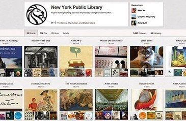 25 Libraries We Most Love on Pinterest - OEDB.org | Librarians Teaching Information Literacy | Scoop.it
