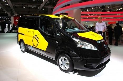 Nissan : des taxis électriques e-NV200 pour Barcelone | Véhicules électriques, bornes de recharge | Scoop.it