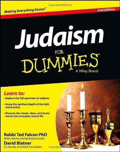 Judaism For Dummies By : Rabbi Ted Falcon, David Blatner | Ebook Store | Scoop.it