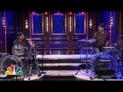Viral Video:Will Ferrell and Chad Smith Drum-Off | staged | Scoop.it