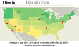 Interactive Map Shows How Hot Your City Will Be in 2100 | GMOs & FOOD, WATER & SOIL MATTERS | Scoop.it
