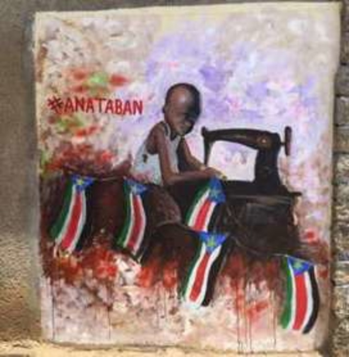 South Sudan artists paint for peace in Juba | BBC | Kiosque du monde : Afrique | Scoop.it