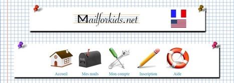 Mailforkids. Une messagerie sécurisée pour les jeunes enfants | TUICE_primaire_maternelle | Scoop.it