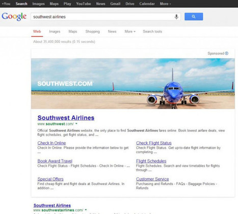 Google Testing Huge Banner Ads For Branded Queries | Advertising | Scoop.it
