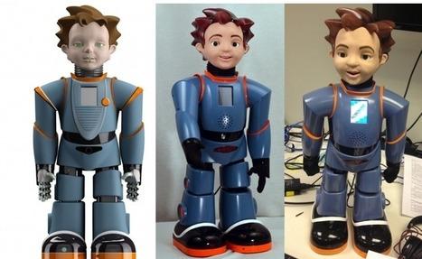 Zeno R25, un robot social étrangement humain [Vidéo] | Ma veille - Technos et Réseaux Sociaux | Scoop.it