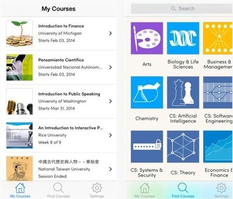 La App de Coursera para iOS ya está disponible | Technology in Education | Scoop.it