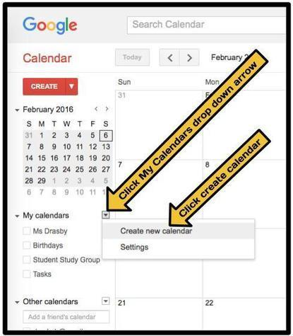 Using Google Calendar to Share Supplemental Class Notes | Educacion, ecologia y TIC | Scoop.it