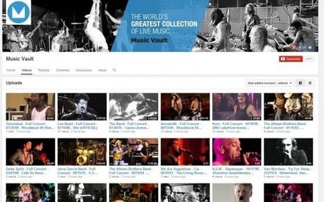 Music Vault publica más de 13.000 conciertos de música en Youtube | Tecnología | Scoop.it