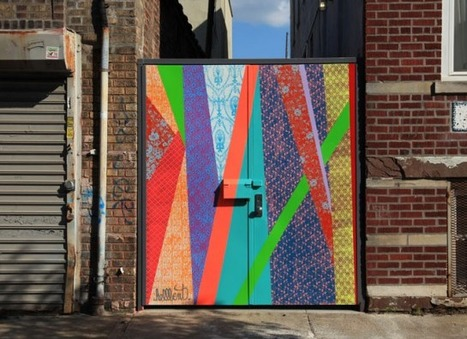 Hellbent's Abstract Vision Challenges Previous Ideas of Street Art | Société Perrier | World of Street & Outdoor Arts | Scoop.it