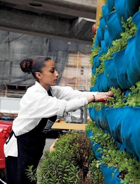 Urban Farming at the Homegirl Cafe | Garden Design | Growing Food | Scoop.it