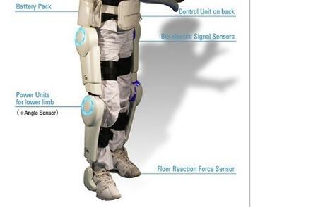 Robotique : un exosquelette pour handicapés reçoit le certificat CE | Les robots de service | Scoop.it