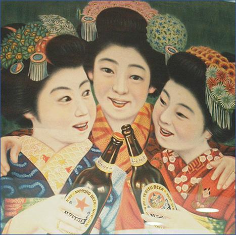 Et qu'est-ce qu'on boit au Japon?   Belgian beer consumption: France-Japan   Scoop.it