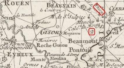 Une nouvelle numérisation en haute définition de la Carte générale de la France par Cassini | Gallica | Nos Racines | Scoop.it