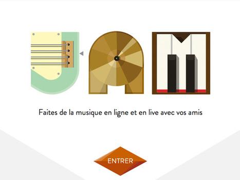 JAM with Chrome : faites de la musique en ligne avec Google   We are numerique [W.A.N]   Scoop.it