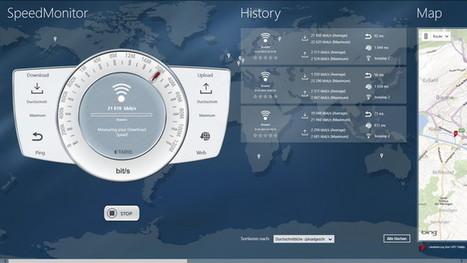 SpeedMonitor - Déterminer facilement la vitesse réelle de votre connexion Internet [Win8] | Time to Learn | Scoop.it