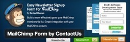MailChimp Form by ContactUs - Easy Form Integrated With MailChimp Lists Free Download | Wordpress | Scoop.it