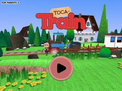 Toca Train App Takes to the Rails | iPadApps | Scoop.it