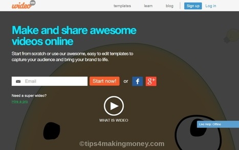 Top 10 Websites to Create Free Animation Video ~ TipsForMakingMoney | Blogging Tutorials for bloggers | Scoop.it