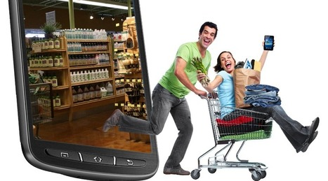 Retailers are experiencing huge increases in mobile based buying and shopping. | Digital Marketing Nibblets | Scoop.it