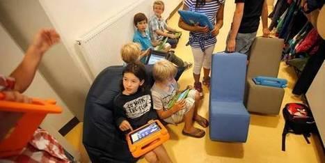 La tablette en guise de cahier | Digital divide and children | Scoop.it