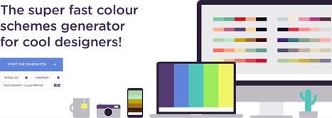 Coolors - The super fast color schemes generator! | Uppdrag : Skolbibliotek | Scoop.it