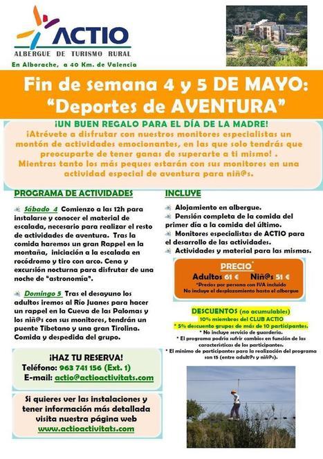 Fin de semana DEPORTES AVENTURA familiar - Actio Activitats | Turismo de Naturaleza, en familia | Scoop.it