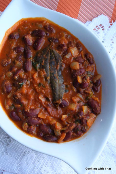 Rajma or Red Kidney Beans Curry - Cooking with Thas | 4-Hour Body Bean Cookbook | Scoop.it