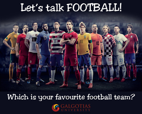 Tell us, Which is your favourite football team? Let's see if it wins WORLD CUP 2014.... | Galgotias University | Scoop.it
