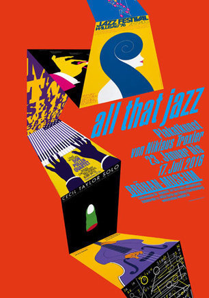 Bröhan Museum | All that Jazz - Poster art by Niklaus Troxler - Blackbox #1 | design exhibitions | Scoop.it