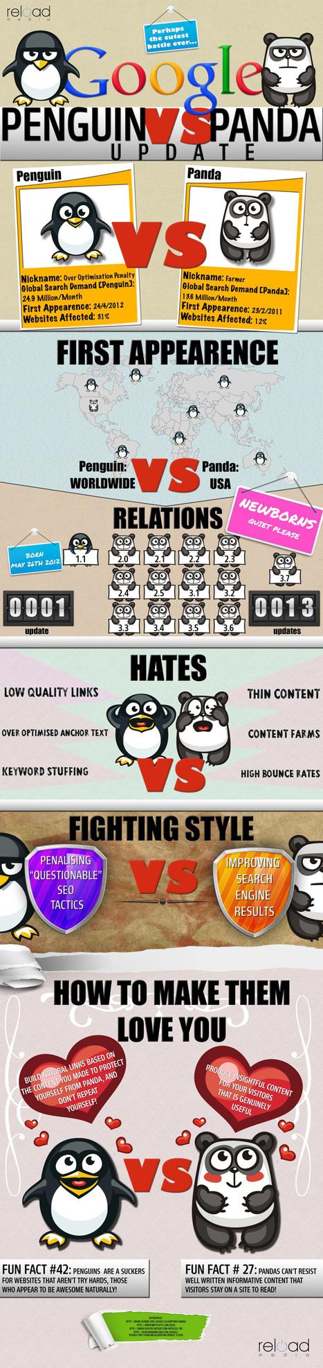 The History of Google Panda & Penguin, Abridged | Marketing & Webmarketing | Scoop.it