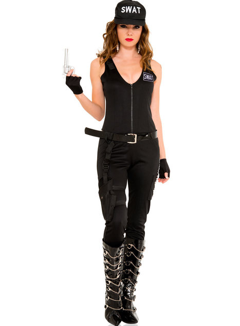 Sexy SWAT Jumpsuit Babe - LegsAppeal.com | sexy halloween costumes | Scoop.it