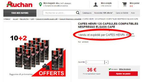 #Auchan s'essaie lui aussi à la Marketplace et ça c'est bon #VerresdeContact | Verres de Contact | Scoop.it