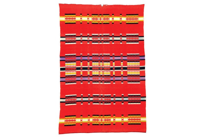 Colorful American Indian trade blankets on view at the Maryhill Museum of Art | Art Daily | Kiosque du monde : Amériques | Scoop.it