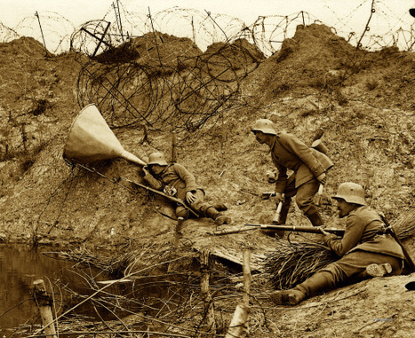Reproducing Traces of War: Listening to Gas Shell Bombardment, 1918   WW-I   Scoop.it