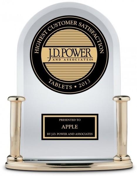 Apple lidera pesquisa de satisfação de tablets da J.D. Power and Associates pela segunda vez consecutiva   Apple Mac OS News   Scoop.it