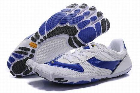 Vibram Five Fingers Speed White/Blue Women's | popular list | Scoop.it
