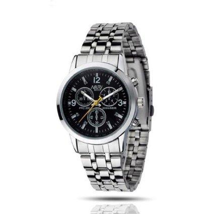 Amtonseeshop Best Price Newly Fashion Luxury Waterproof Stainless Steel Quartz Women Wrist Watch Jewelry (Black) | Electronics | Scoop.it