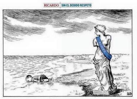 Una docena de viñetas que reflejan el drama de los refugiados | Activismo en la RED | Scoop.it