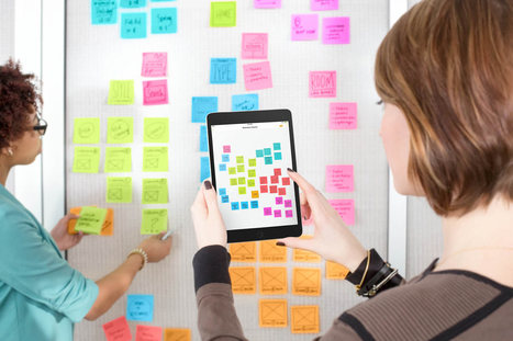 Post-It's New App Blurs The Line Between Real Notes And Virtual Ones | Collaborate | Scoop.it