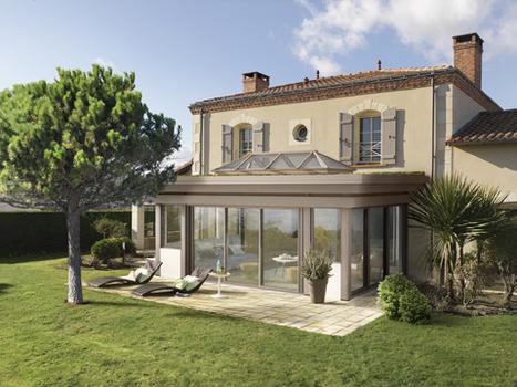 C - VIE & VERANDA présente Horizon, sa nouvelle gamme de vérandas à toiture plates végétalisées | Décoration | Scoop.it