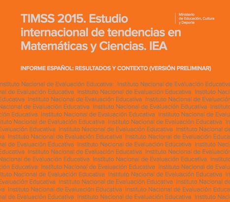 Los resultados del estudio TIMMS 2015. ¿Y los más capaces?.Javier Tourón | Valores y tecnología en la buena educación | Scoop.it