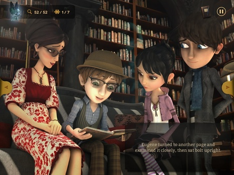 Storytelling app a hit; launches a new chapter in transmedia | FutureMedia | Scoop.it