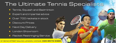 Tennis Equipment | Babolat Tennis Rackets | Scoop.it