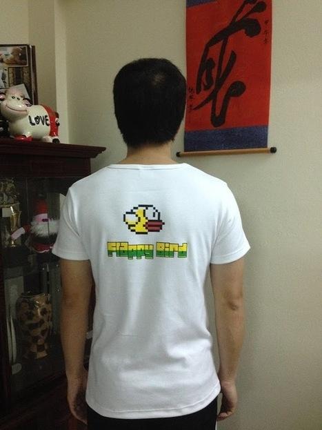 Áo phông Flappy Bird | Phong Quà - Một thế giới quà tặng | Scoop.it