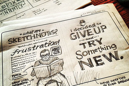 7 Questions with Mike Rohde | Rejuvenate Meetings | SKETCHNOTING | Scoop.it