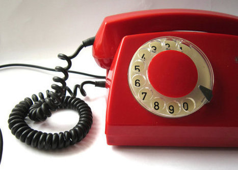 Vintage rotary red phone | Antiques & Vintage Collectibles | Scoop.it